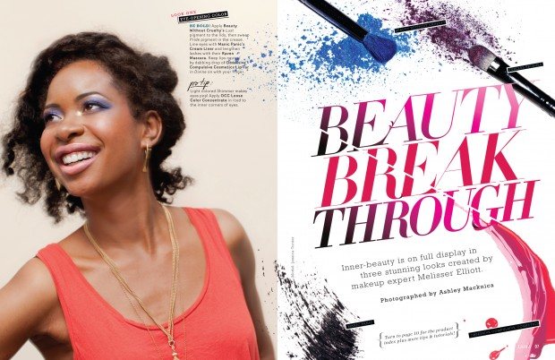 Beauty break through