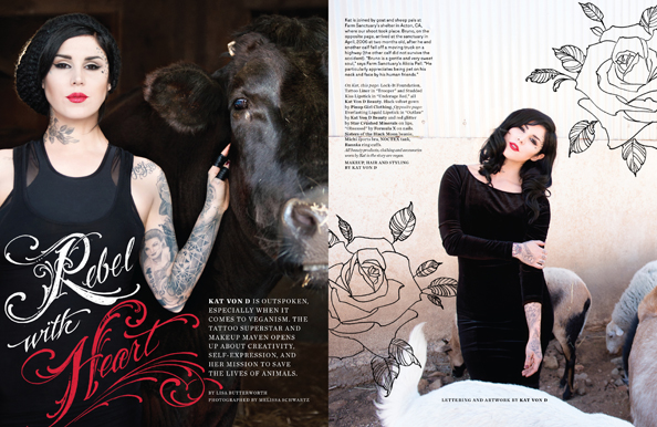 LAIKA Kat Von D Cover Feature