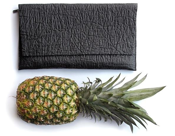 Vegemoda bag made from pineapple leaves.